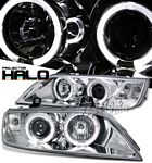 1996 BMW Z3 Clear Halo Projector Headlights