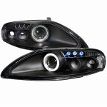 Lexus SC400 1992-1999 Black Halo Projector Headlights