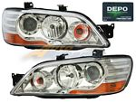 Mitsubishi Lancer 2002-2003 Depo Clear Projector Headlights
