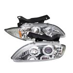 1997 Chevy Cavalier Clear Halo Projector Headlights with LED