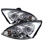 2004 Ford Focus Clear Dual Halo Projector Headlights