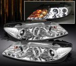 Mazda 6 2003-2005 Clear CCFL Halo Projector Headlights with LED DRL