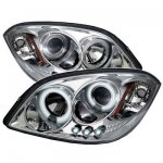Pontiac Pursuit 2005-2006 CCFL Halo Projector Headlights with LED