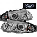 2000 BMW 3 Series Sedan Clear Halo Projector Headlights