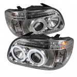1995 Ford Explorer Clear CCFL Halo Projector Headlights