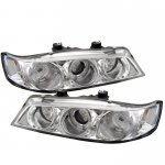1996 Honda Accord Clear Dual Halo Projector Headlights