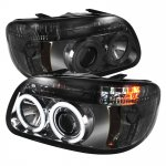 Ford Explorer 1995-2001 Smoked CCFL Halo Projector Headlights