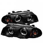 2000 BMW 3 Series Sedan Black Halo Projector Headlights