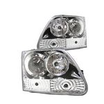 2002 Ford F150 Clear Projector Headlights