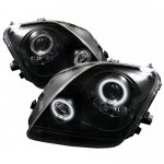 1999 Honda Prelude Black CCFL Halo Projector Headlights