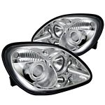Mercedes Benz SLK 1998-2004 Clear Dual Halo Projector Headlights