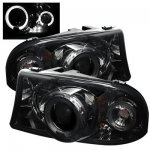 2002 Dodge Durango Smoked Projector Headlights