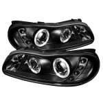 1999 Chevy Malibu Black Halo Projector Headlights