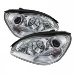 2006 Mercedes Benz S Class Clear Projector Headlights