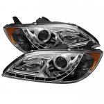 Mazda 3 Sedan 2004-2008 Clear Projector Headlights with LED Daytime Running Lights