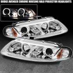 Chrysler Sebring Coupe 1997-2000 Clear Projector Headlights