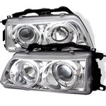 1989 Honda CRX Clear Halo Projector Headlights