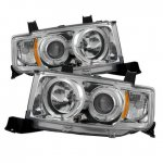 Scion xB 2004-2006 Clear Dual Halo Projector Headlights