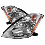 Nissan 350Z 2003-2005 Clear Projector Headlights