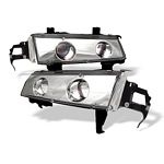 Honda Prelude 1992-1996 Clear Halo Projector Headlights