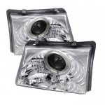 Ford Ranger 1998-2000 Clear Halo Projector Headlights
