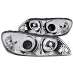 Infiniti I30 2000-2001 Clear Projector Headlights with Halo