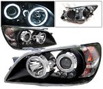 Lexus IS300 2001-2005 Black CCFL Halo Projector Headlights LED