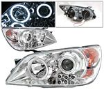 Lexus IS300 2001-2005 Chrome CCFL Halo Projector Headlights LED