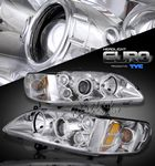 2002 Honad Accord TYC Clear Projector Headlights
