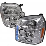 GMC Yukon XL 2007-2014 Clear Projector Headlights with LED