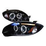Mitsubishi Eclipse 2006-2011 Smoked Halo Projector Headlights with LED