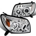 2005 Toyota 4Runner Clear Halo Projector Headlights with LED