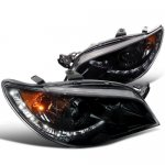 Subaru Impreza 2006-2007 Smoked Projector Headlights with LED
