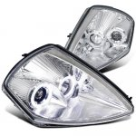 Mitsubishi Eclipse 2000-2005 Chrome Projector Headlights Halo