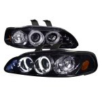 Honda Civic 1992-1995 Smoked Halo Projector Headlights with LED