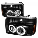 1995 Ford Bronco Halo Projector Headlights