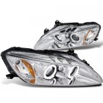 Honda S2000 2000-2003 Clear Halo Projector Headlights with LED