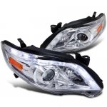 2011 Toyota Corolla Projector Headlights LED DRL Chrome
