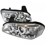 Nissan Maxima 2000-2001 Chrome Halo Projector Headlights LED