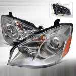 Nissan Altima 2005-2006 Clear Projector Headlights