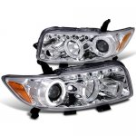 Scion xB 2008-2010 Clear Halo Projector Headlights with LED