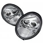 VW Beetle 1998-2005 Clear Halo Projector Headlights