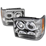 Jeep Grand Cherokee 1993-1998 Clear Dual Halo Projector Headlights
