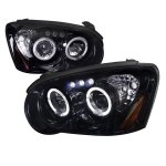 Subaru Impreza 2004-2005 Smoked Halo Projector Headlights with LED