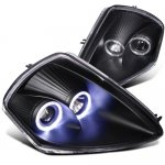 Mitsubishi Eclipse 2000-2005 Black Projector Headlights Halo