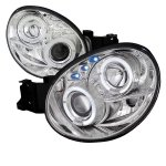 Subaru Impreza 2002-2003 Clear Halo Projector Headlights with LED