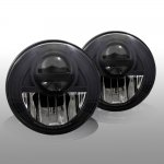2010 Jeep Wrangler JK Black Projector Headlights