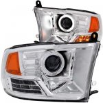 2010 Dodge Ram 3500 Projector Headlights Chrome CCFL Halo