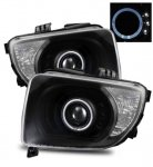 Honda Element 2003-2006 Projector Headlights Black Halo LED