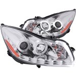 2011 Buick Regal Projector Headlights Chrome CCFL Halo LED DRL